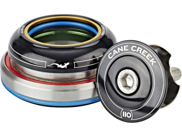 Cane Creek 110 Headset Tapered Short IS41/28.6/H9 I IS52/40 black